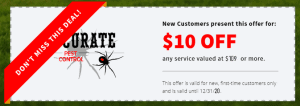 Accurate Pest Control coupon